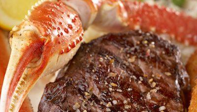 MR MIKES Steak & Crab Promo
